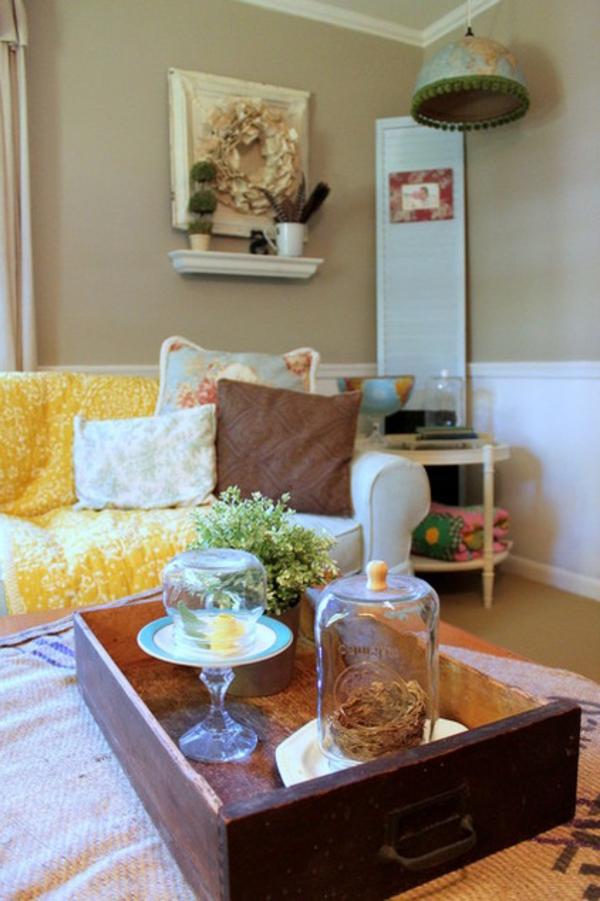 dekoideen wohnzimmer natur – Dumss.com