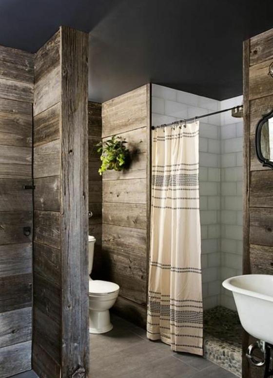 rustikale badmöbel holzeinrichtung badezimmer landhausstil