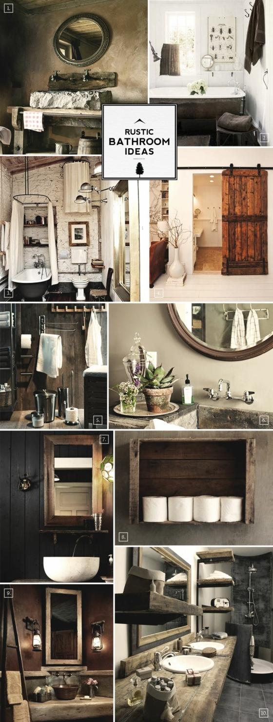 rustikale badm bel ideen das badezimmer im landhausstil. Black Bedroom Furniture Sets. Home Design Ideas