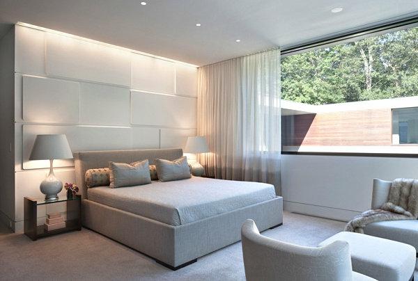 sanfte beleuchtung schlafzimmer ideen modern