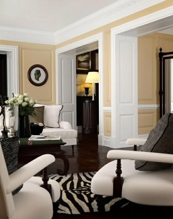 sanfte farbkombination im wohnzimmer sofa sessel