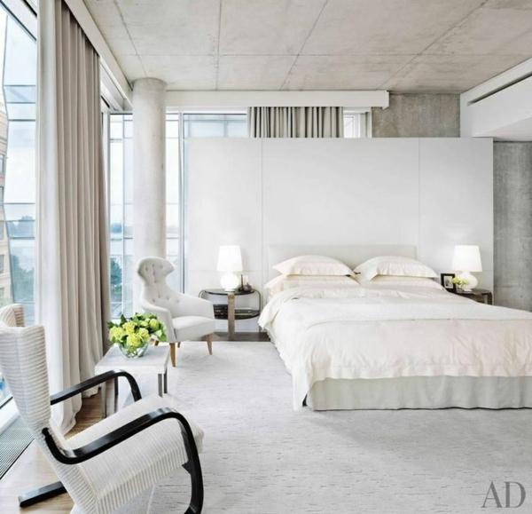 Schlafzimmer Dachschräge Gestalten Genial Wandgestaltung: 50 Reizende Schlafzimmergestaltung Ideen