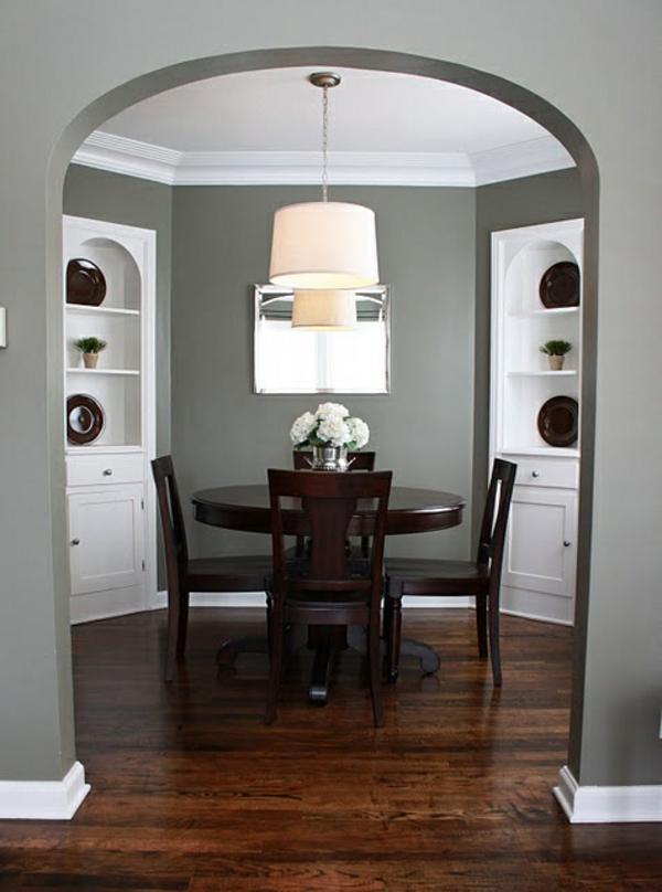 graue wandfarbe ideen | badezimmer & wohnzimmer