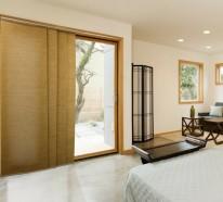 Sind Die Schiebegardinen Die Neue Moderne Fensterdeko - Schiebegardinen schlafzimmer