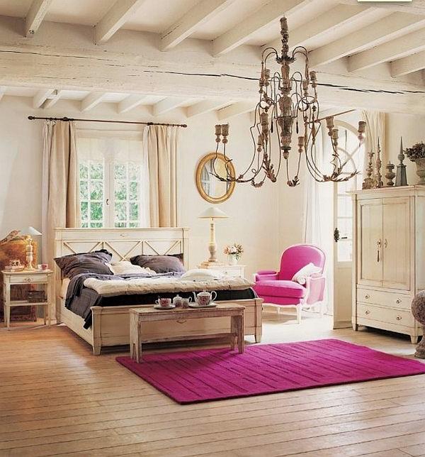 schlafzimmer rustikal gestalten ~ beste ideen für moderne