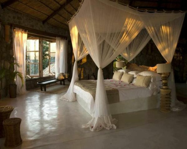 Schlafzimmer Ideen Himmelbett : schlafzimmer inneneinrichtung ideen ...