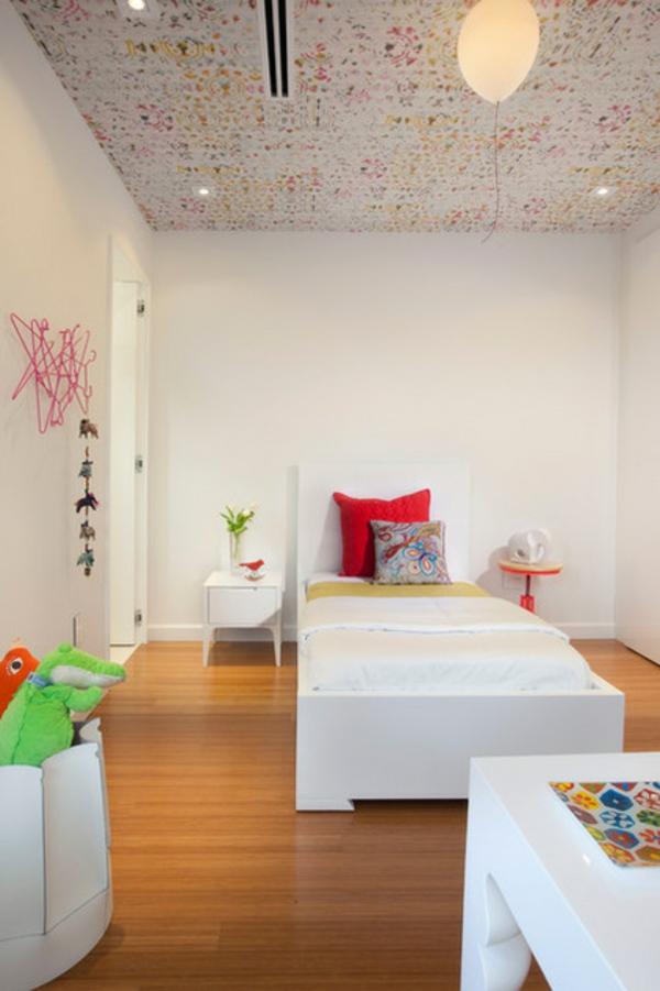 Die Zimmerdecke Gestalten - Wie Wäre Es Mit Gemusterten Tapeten?
