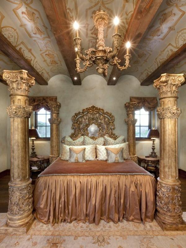 Luxury Ideas For Lavish Living Room Style: 50 Reizende Schlafzimmergestaltung Ideen