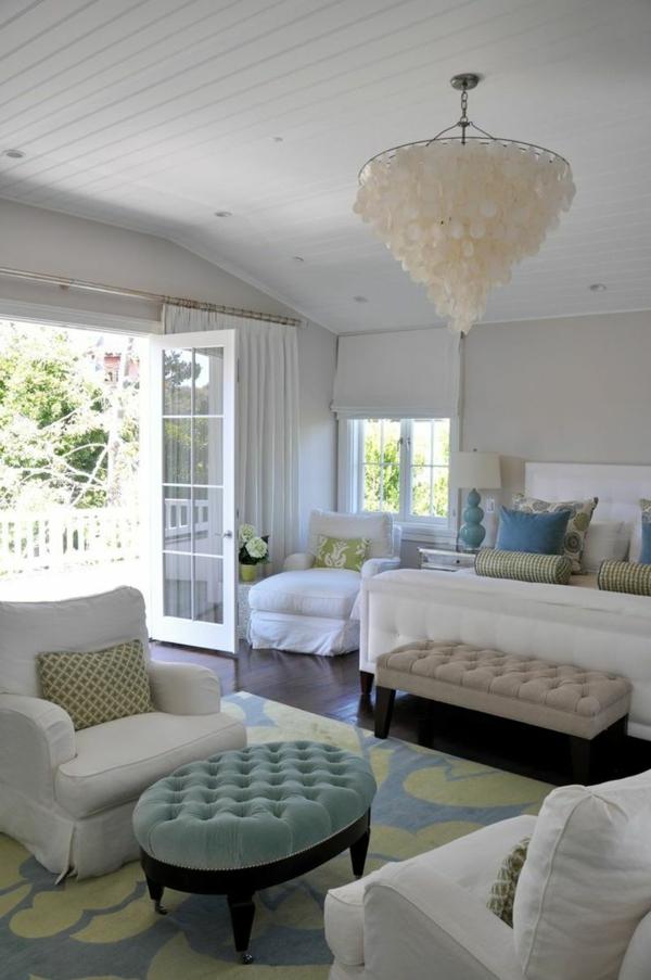 schlafzimmer luxus polstermöbel veranda bett