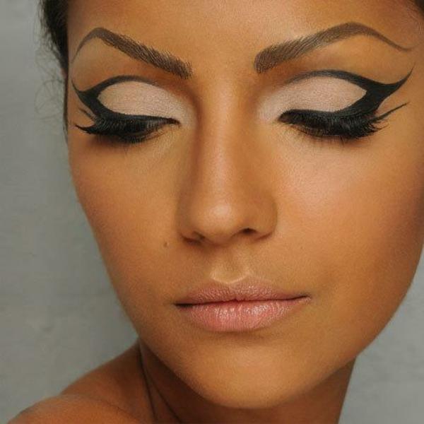 schminktipps augen-make-up augenbrauen färben