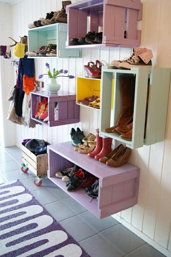 Einfache möbel selber bauen  Wie können Sie ein Schuhregal selber bauen?- DIY-Möbel liegen im Trend