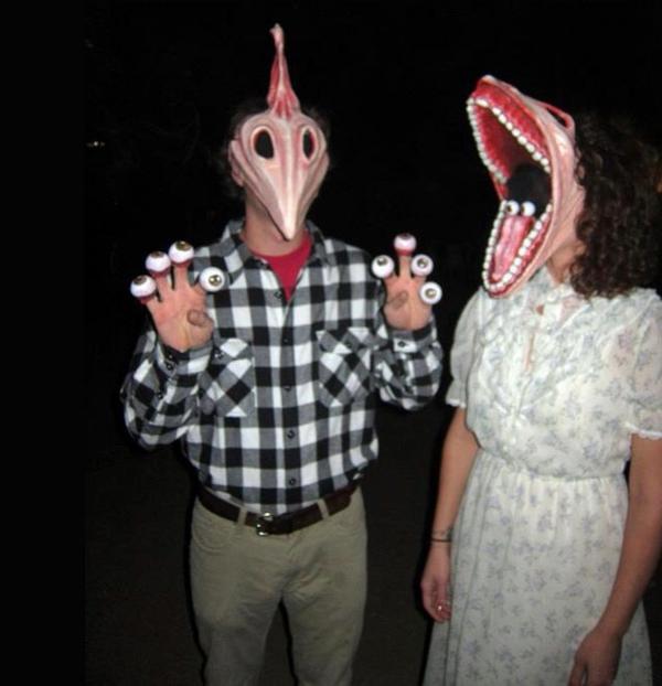 diy fasching Selbstgemachte Kostüme karneval halloween