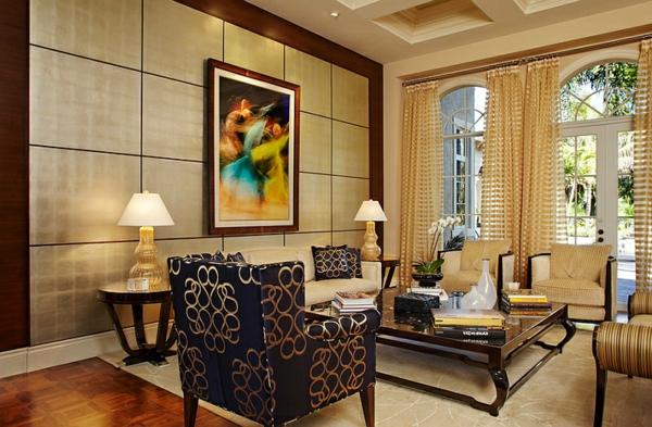 sofas couchtisch glas wohnwand gardinen