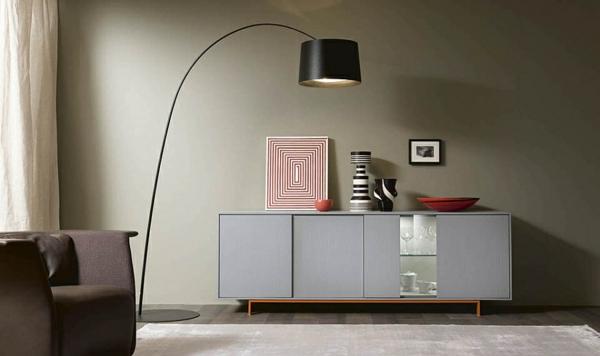 Stehlampe Wohnzimmer Wohnwand Kommode Ausstellen