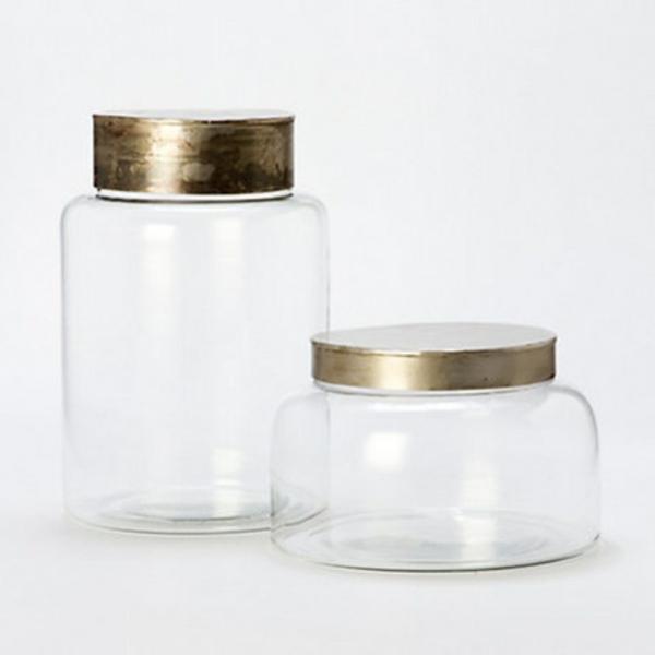 terrarium selber bauen glas mit metalldekel gefäß leer