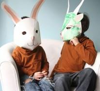 Tiermasken basteln – einen unvergesslichen Fasching planen