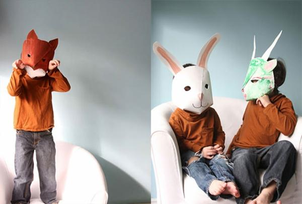 tiermasken basteln einen unvergelichen fasching planen. Black Bedroom Furniture Sets. Home Design Ideas