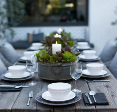 Gartentisch Und Stühle Holz.Gartenmöbel Ideen Stellen Sie Den Holz Gartentisch In Den