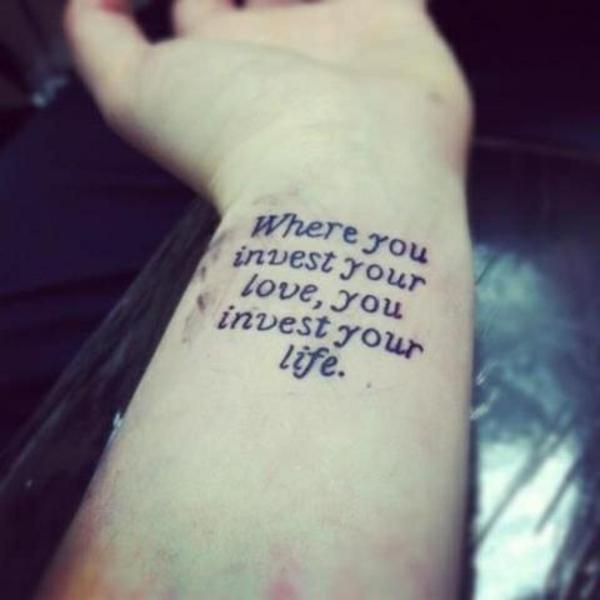 tolle handgelenk tattoo sprüche