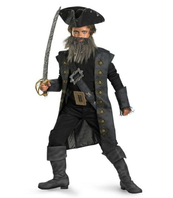 tolle ideen für faschingskostüme piraten