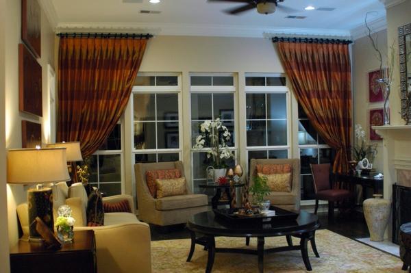 vorhänge design | möbelideen. fenster vorhänge wohnzimmer .... 13 ... - Grose Fenster Wohnzimmer
