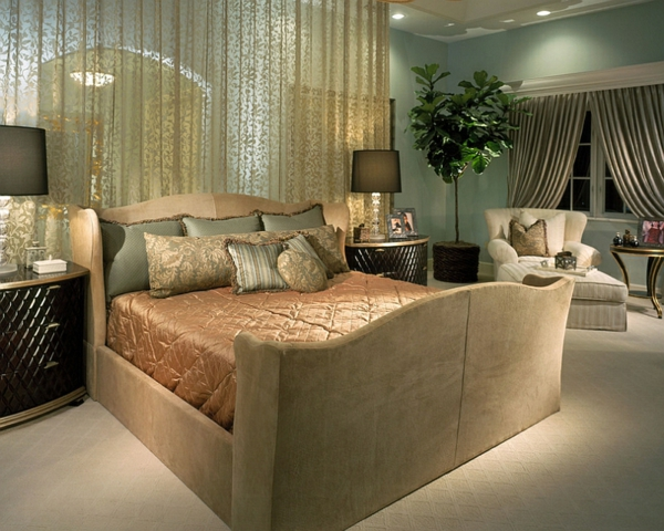 traditionelles schlafzimmer gardnen schlafzimmerwand