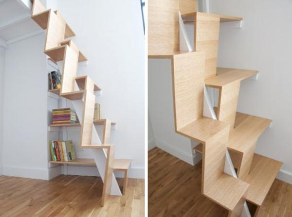 Beistelltisch Holz Selber Bauen ~ Die hier abgebildete Treppe führt zu einem Schlafzimmer im