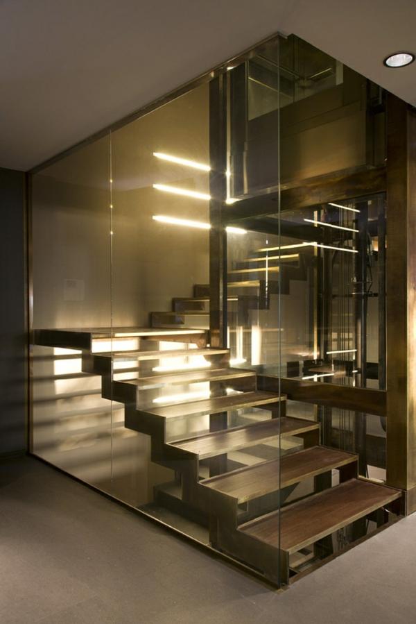 Treppenhaus modern  Eine moderne Treppe kann Ihr Haus völlig umwandeln
