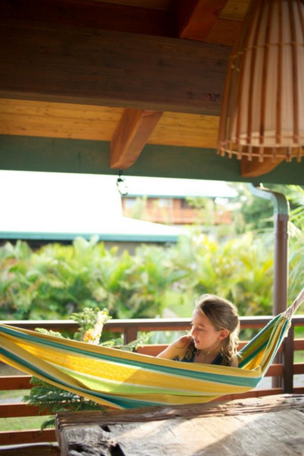 party frühling ideen tropisch gartendeko frische Ideen für Partydeko