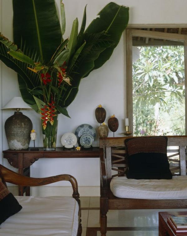 tropische dekoration design ideen