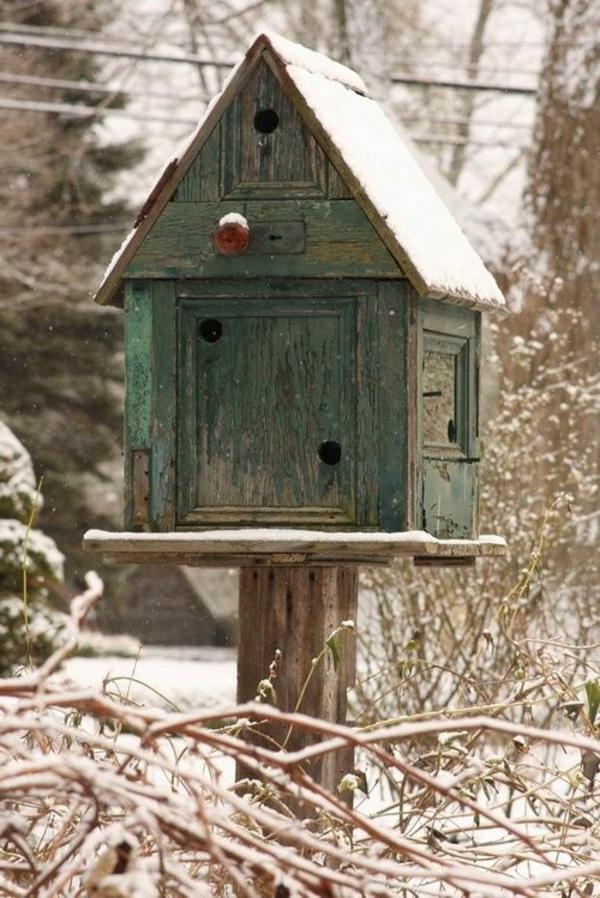 Vogelhaus Holz Selber Bauen ~ vogelhäuschen selber bauen holz umweltfreundlich stand