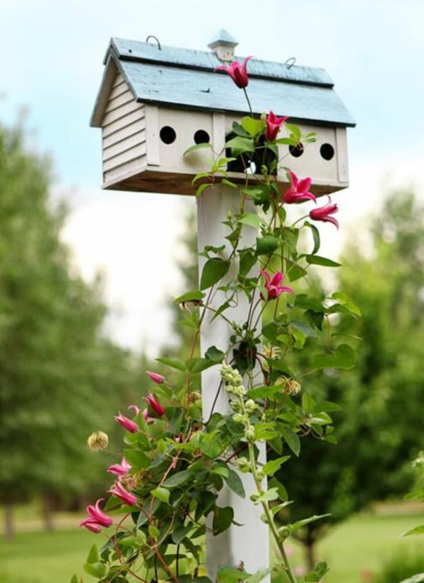 Kleiderständer Holz Bauanleitung ~ vogelhaus selber bauen holz umweltfreundlich strauch