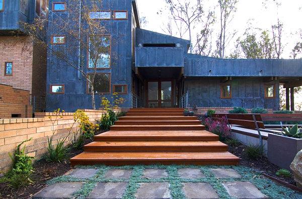 vorgarten gestalten gartengestaltung und landschaftsbau pflastersteine trittstufen