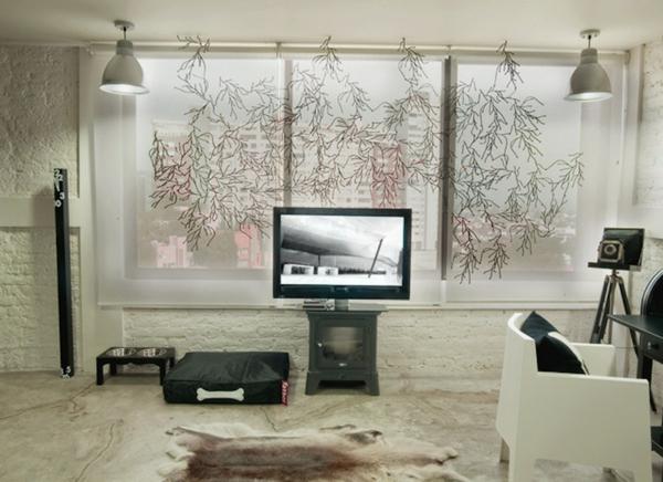 Wohnideen Alternativ gardinen ideen und einige interessante alternativen dazu