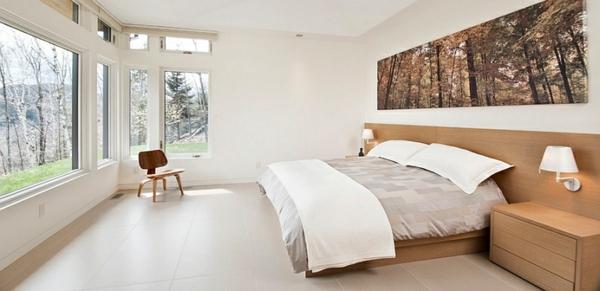 weiß wandfarbe gestaltung ideen komplett schlafzimmer