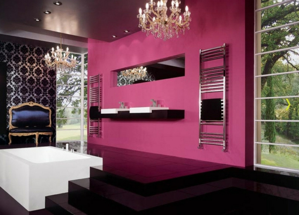 Jeder raum braucht ein bisschen schwarz innovative wohnideen - Wohnideen lila ...