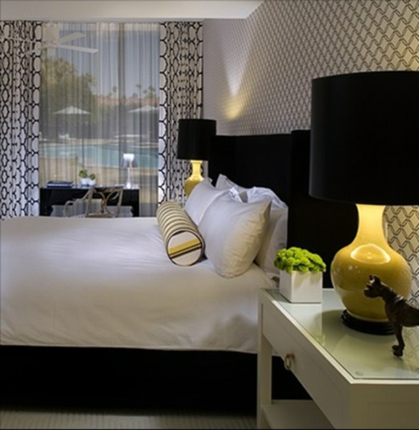 Schlafzimmer Ideen Mit Schwarzem Bett U2013 Bigschool, Schlafzimmer Entwurf