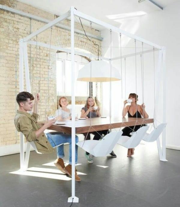 wohnungseinrichtung-ideen-installation-schaukel
