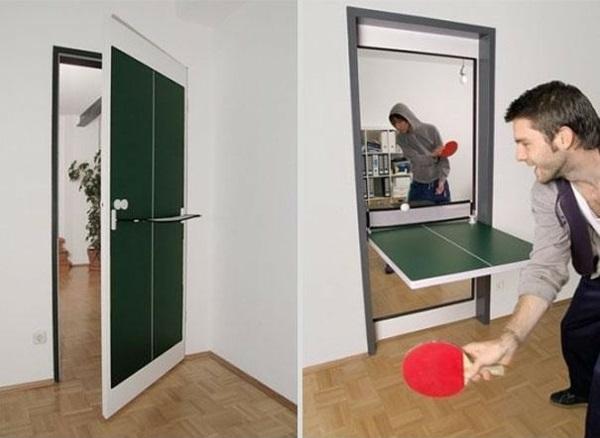 wohnung einrichtung tür tennistisch