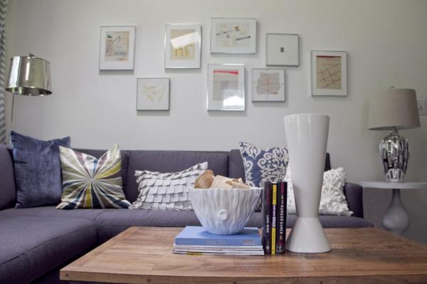 wohnzimmer design ideen modern bilder lampen