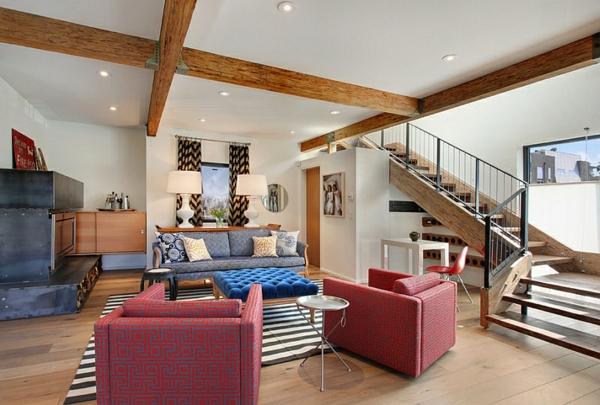 wohnzimmer interior design decke