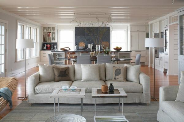 Ideen offene küche wohnzimmer