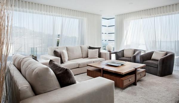 Coole Gardinen Ideen für Sie - 50 luftige Designs fürs moderne Zuhause