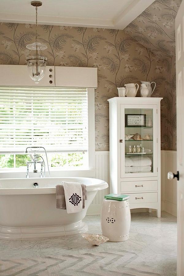 badezimmer freistehende badewanne sockel garten hocker