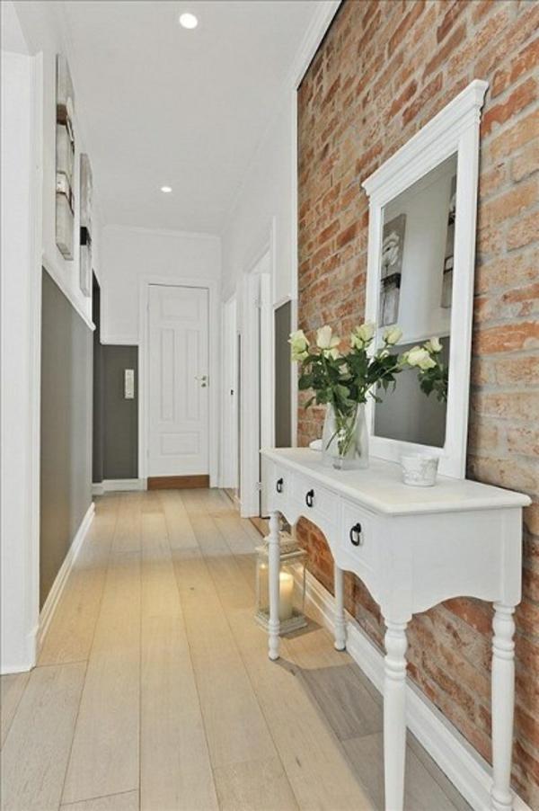 20 wohnideen f r sch ne farbgestaltung im flur - Comment decorer son entree de maison ...