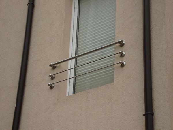 Аbsturzsicherung Geländer aluminium