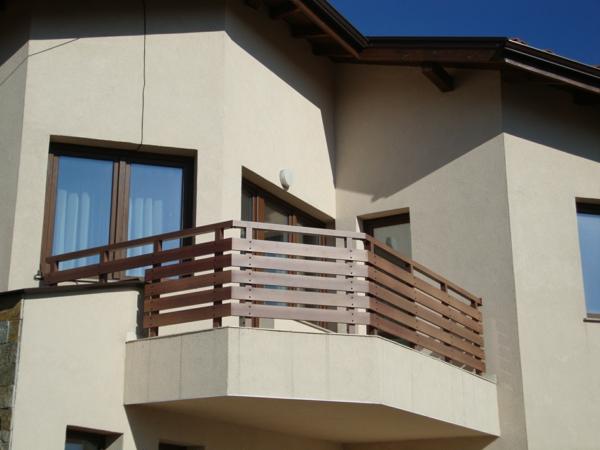 Аbsturzsicherung Geländer terrasse