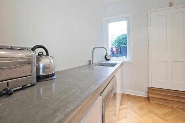 beton oberflächen küche arbeitsplatte holz bodenbelag