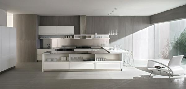Arbeitsplatte Betonoptik küchenarbeitsplatten küchenplatte grau