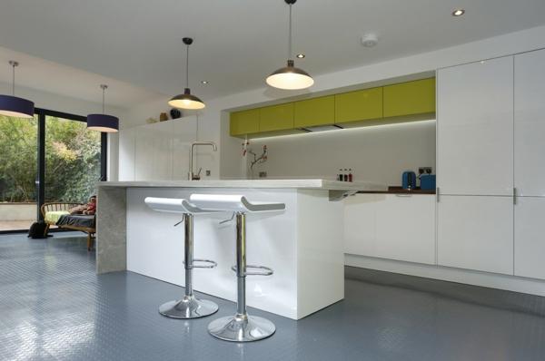 Arbeitsplatte Beton küchenarbeitsplatten küchenplatte hocker